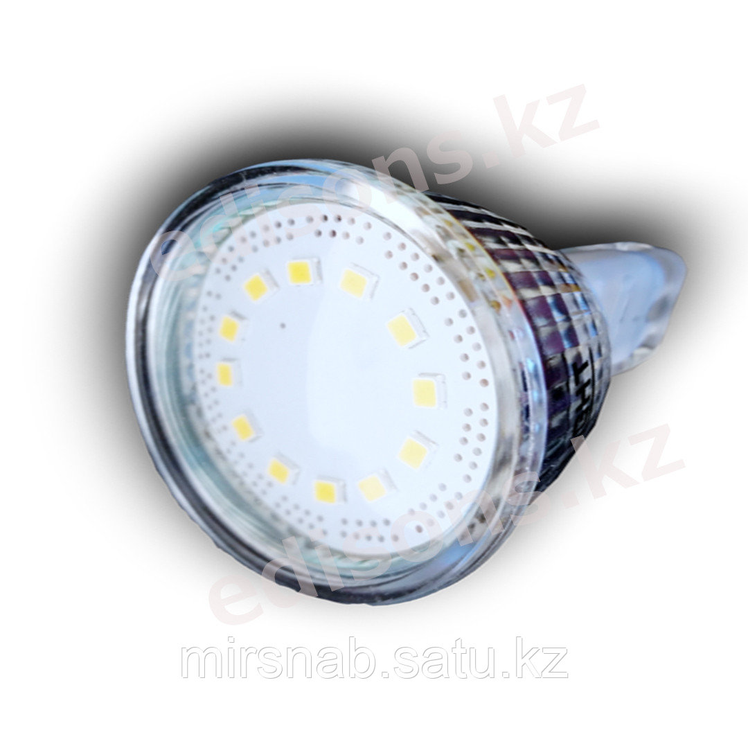 DLL-MR16-7 Светодиодная лампа GU5.3-7Вт Тип лампы: MR16 6000К.ОПТОМ