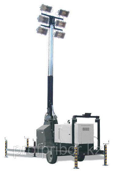 Осветительная мачта 15 м, 6х1000 W, гидравлика
