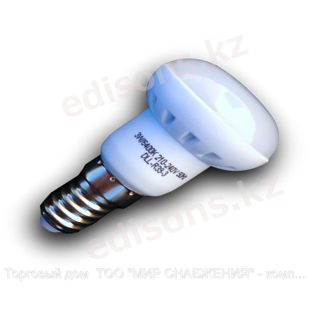 DLL-R50-6  Светодиодная лампа Е14-6Вт 6400К.ОПТОМ