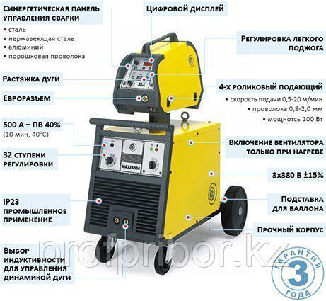 Сварочный полуавтомат трансформаторного типа CEA MAXI 5005 SYN