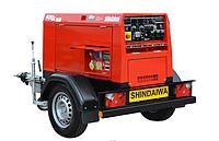 Сварочный агрегат дизельный - SHINDAIWA DGW400DMK/RU, фото 1