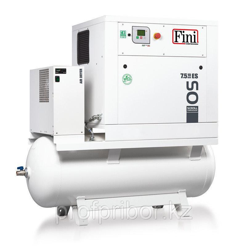 Спиральный компрессор на ресивере FINI OS 5.5-10-500