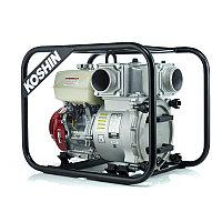 Бензиновая мотопомпа для сильнозагрязненной воды Koshin KTH-100S o/s