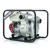 Бензиновая мотопомпа для сильно-загрязненных вод Koshin KTH-100X o/s
