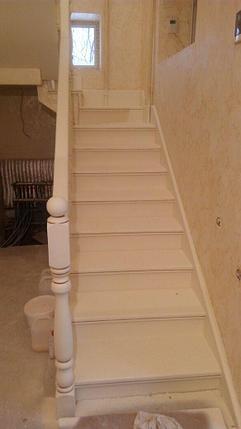 Реставрация перил и ступеней лестницы, фото 2