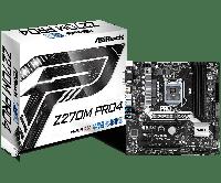 Материнская плата ASRock Z270M PRO4 Intel Z270 90-MXB3F0-A0UAYZ