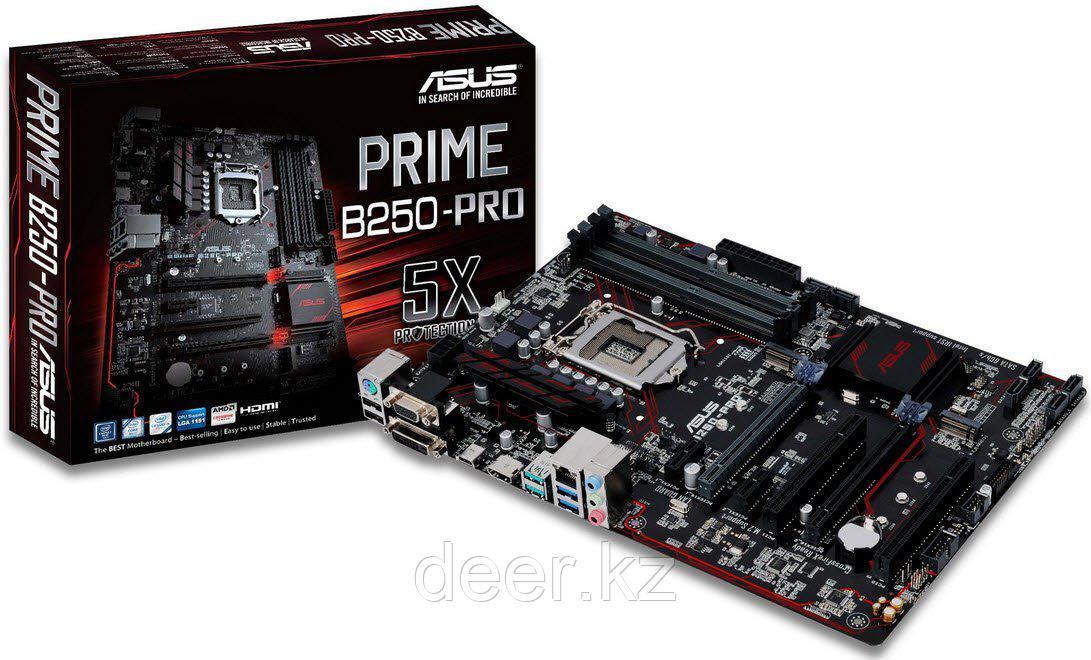 Материнская плата Asus PRIME B250-PRO LGA1151 B250 90MB0SH0-M0EAY0
