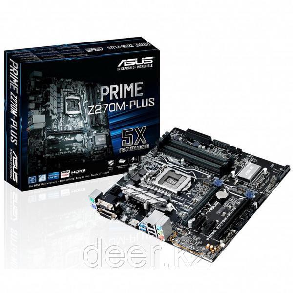 Материнская плата Asus PRIME Z270M-PLUS LGA1151 90MB0S50-M0EAY0