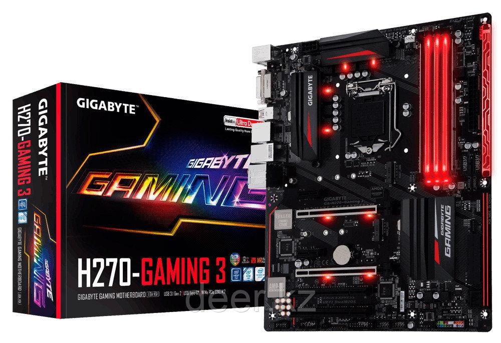 Материнская плата Gigabyte GA-H270-Gaming 3 rev1.0 LGA-1151 GAH270G3-00-G