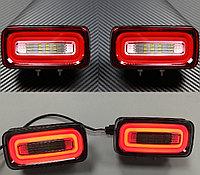 Задние противотуманные фонари LED для Benz G-class W463 (Howell), фото 1