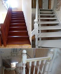 Реставрация и ремонт лестниц