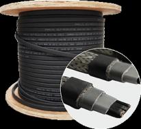 Саморегулирующийся кабель SRL30-2CR 40W(с оплеткой)