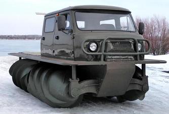 Снегоболотоход ТП С РВД ЗВМ-2901