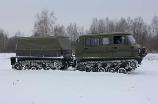 Снегоболотоход УНЖА ЗВМ-3402