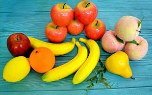 Искусственные фрукты, ягоды, овощи