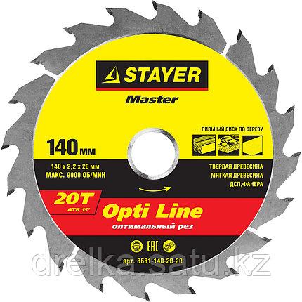 Диски пильные по дереву STAYER «OPTI Line», фото 2