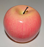 Искусственный фрукт яблоко муляж розовое
