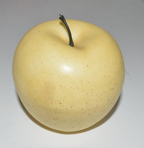 Искусственный фрукт яблоко муляж желтое