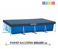 Тент для каркасного бассейна, Intext 28039, размер 450x220 см