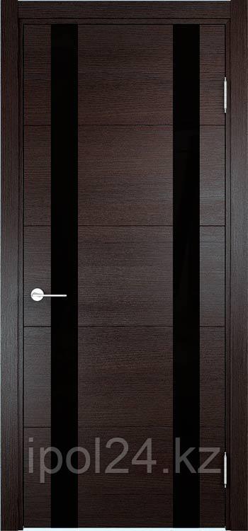 Дверь Verda Экошпон Премиум Турин 06 ( Дуб шоколад CPL)