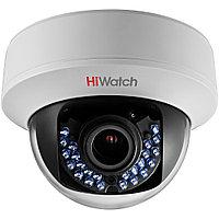 HiWatch DS-T107 видеокамера цветная купольная с ИК-подсветкой