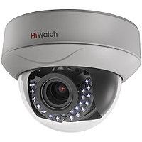 HiWatch DS-T207P видеокамера цветная купольная TVI с ИК-подсветкой