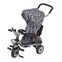 Детский 3-х колесный велосипед Mars Trike (голубой/кошки)