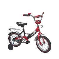 Двухколесный велосипед (чёрно/красный)