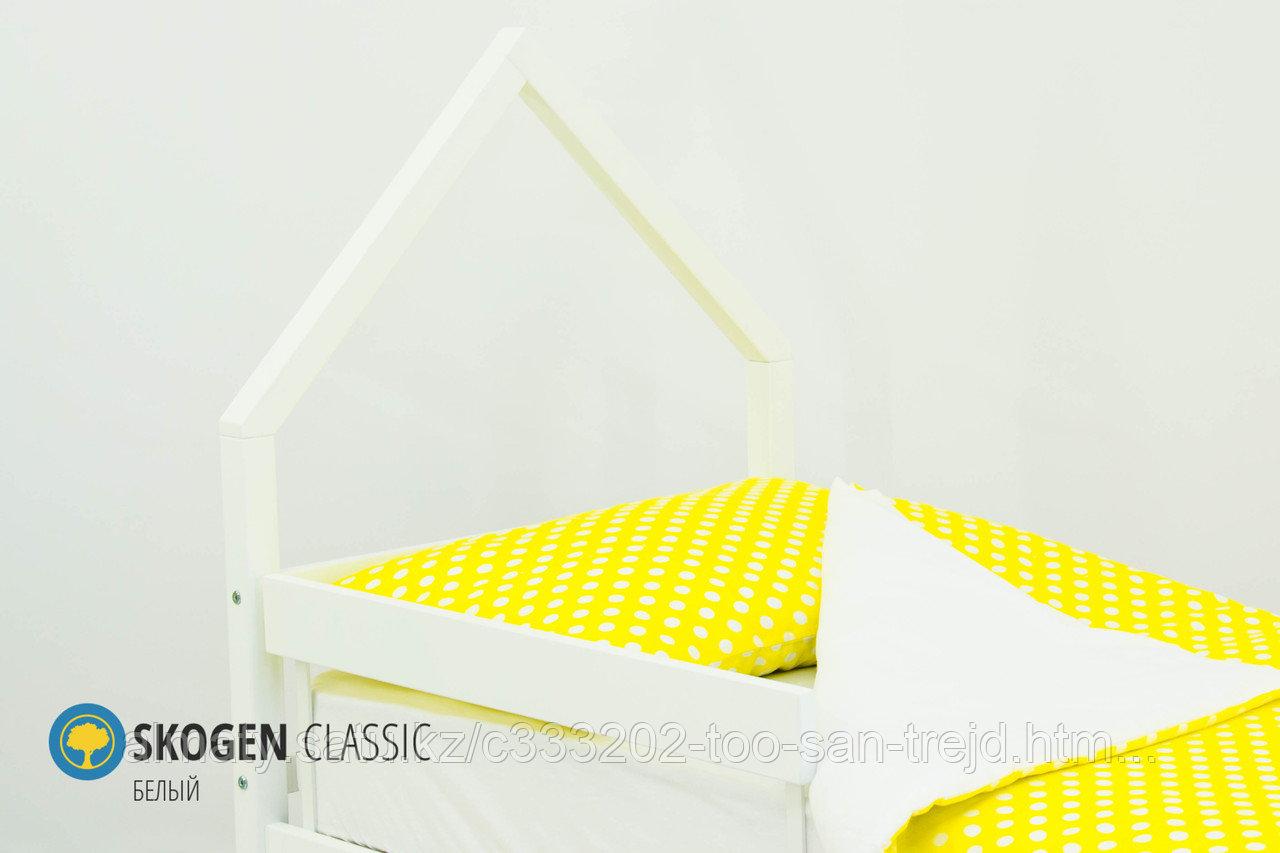 """Изголовье-крыша для кровати """"Skogen classic белый"""""""