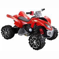 Электроквадроцикл (черный/красный)