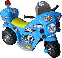 Электромотоцикл  6V (голубой)