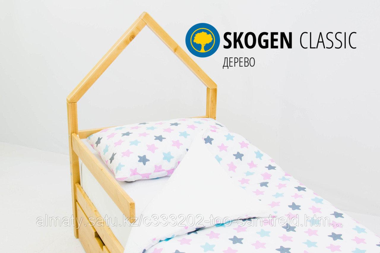 """Изголовье-крыша для кровати """"Skogen classic дерево"""""""