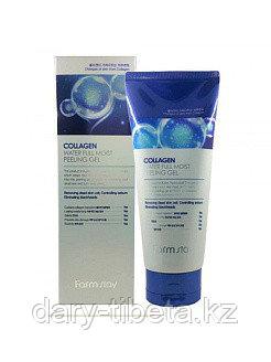 Farm Stay Collagen Water Full Moist Deep Cleansing Foam -Увлажняющая пенка для умывания с коллагеном