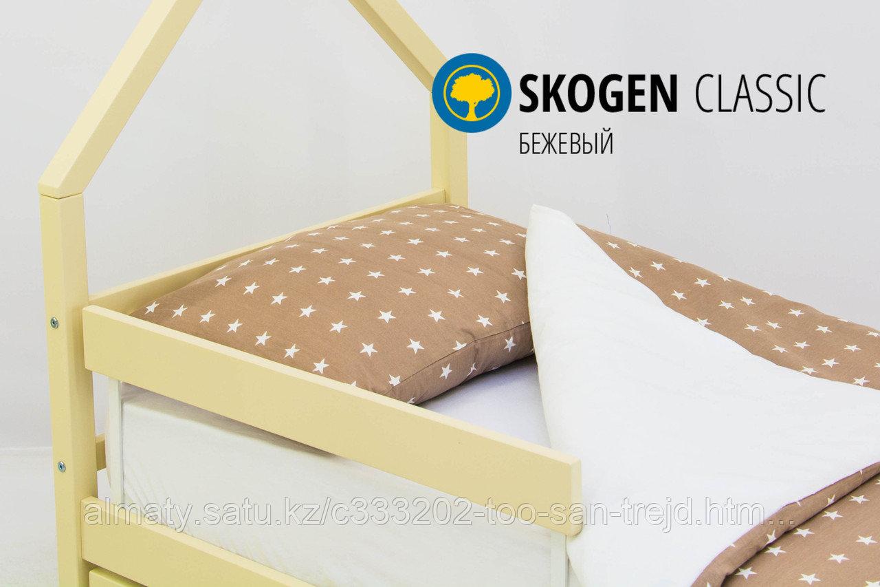 """Изголовье-крыша для кровати""""Skogen classic бежевый"""""""