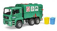 Игрушечная машинка MAN TGA Мусоровоз зеленый, 1:16, фото 1