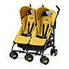 Коляска-трость для двойни Peg-Perego Pliko Mini Twin Mod Yellow
