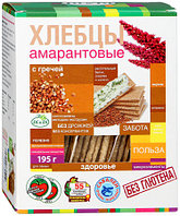 """Хлебцы """"Di&Di"""" амарантовые с гречей 100г"""