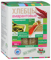 """Хлебцы """"Di&Di"""" амарантовые с ламинарией 195г"""