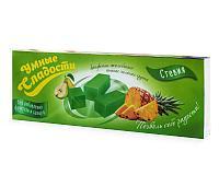 """Конфеты """"Умные сладости"""" желейные со вкусом ананас-зеленая груша 90г"""