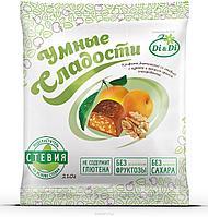 """Конфеты """"Умные сладости"""" курага с грецким орехом в шоколадной глазури 210г"""