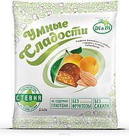"""Конфеты """"Умные сладости"""" курага с миндалем в шоколадной глазури 210г"""