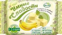 """Пастила «Умные сладости» со стевией """"Банан"""" 160г НОВИНКА"""