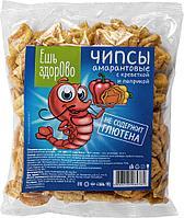 Чипсы «Ешь здорово» со вкусом креветки и паприки 90гр