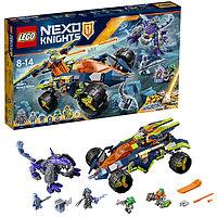 Lego Nexo Knights Нексо Вездеход Аарона 4x4