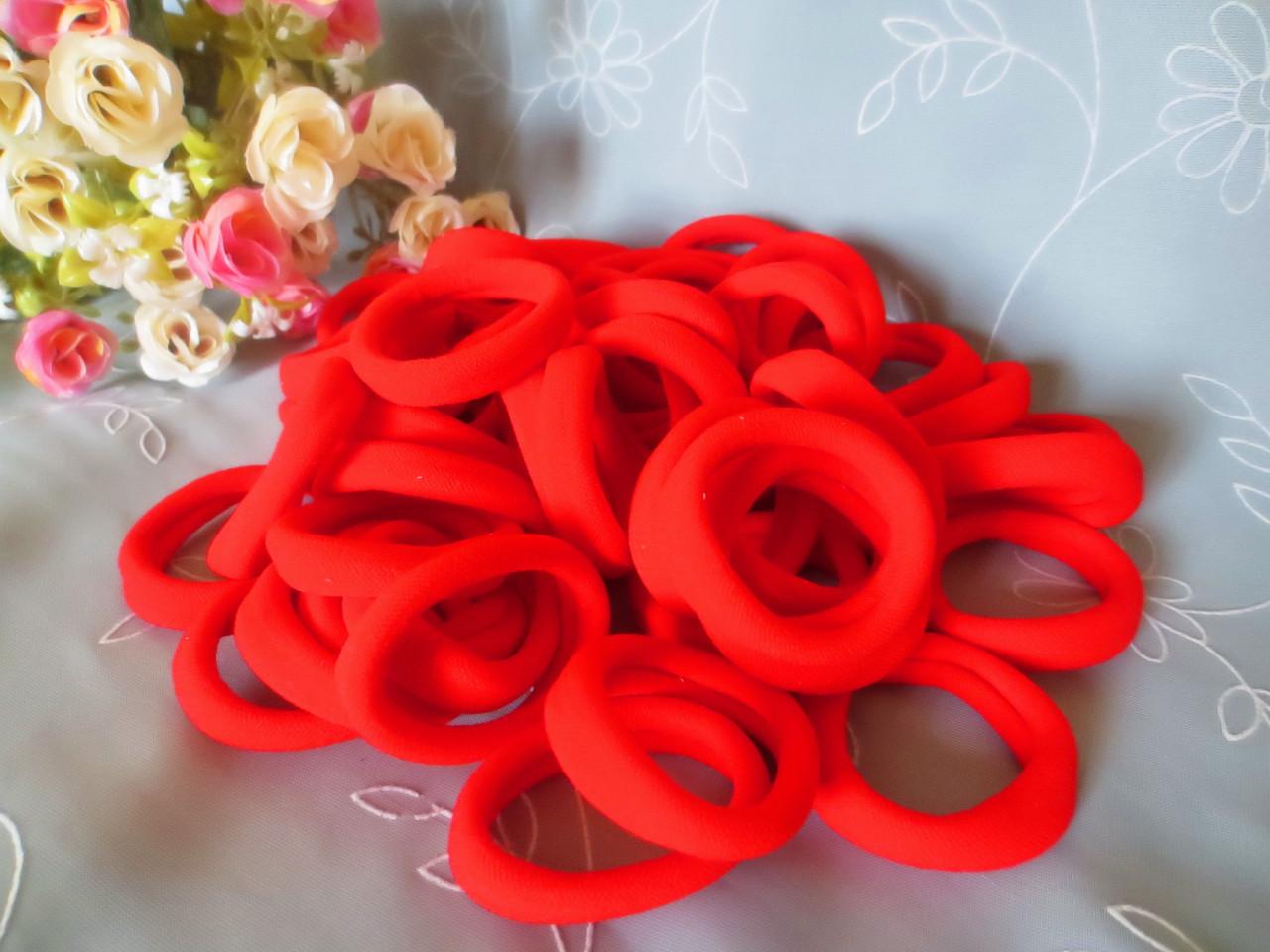 Резинки красные