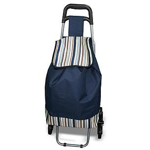 Сумка-тележка на колесах со складным стулом, фото 2