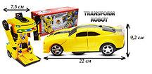 Машинка робот Бамблби Трансформеры