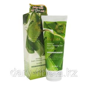 ASPASIA Moisture Foam Cleansing Aloe-Пенка для умывания Алоэ