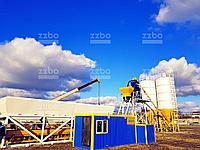 Бетонный завод СКИП-60