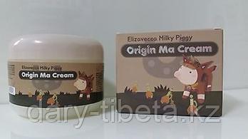Elizavecca Milky Piggy Origin Ma Cream-Крем для лица с лошадиным маслом